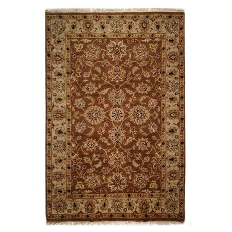 gold wool rug two roses traditional brown gold wool rug 7507 andonian rugs seattle bellevue store