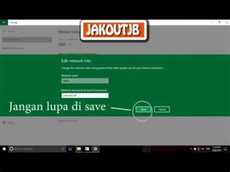 cara membuat tethering hotspot di laptop cara membuat hotspot di laptop windows windows 8 windows