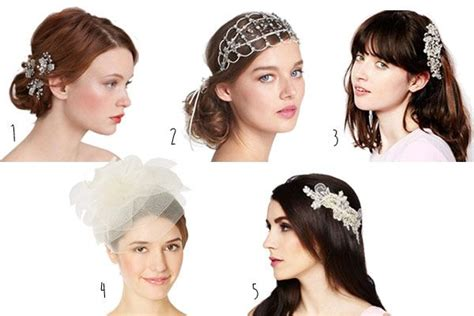 8 Fabulous Must Hair Accessories by These Fabulous Wedding Hair Accessories Add A Vintage