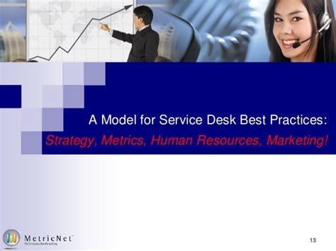best free help desk free service desk training series metricnet s service