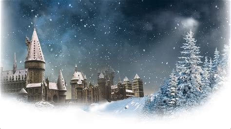 harry potter winter at 1406376086 hogwarts winter wallpaper www pixshark com images galleries with a bite