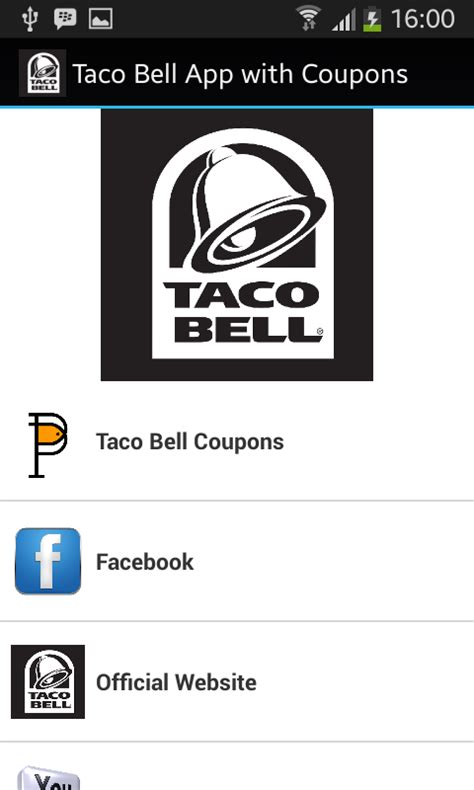Taco Bell Gift Card Promotion - amazon com taco bell coupons app appstore for android