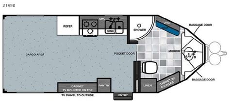 cargo trailer conversion floor plans 25 best ideas about cargo trailer conversion on pinterest