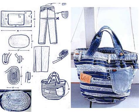 jeans backpack pattern jeans bag patterns 12 amazing recycled jeans bags with