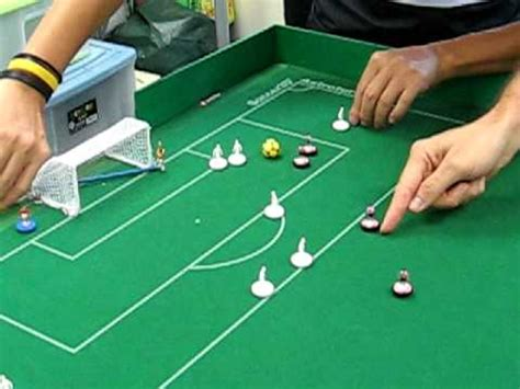 How To Make A Table Football Out Of Paper - table football subbuteo