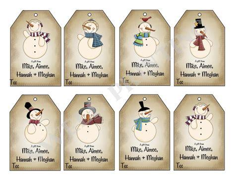 printable customizable christmas gift tags printable mr snowman gift tags holiday gift tag
