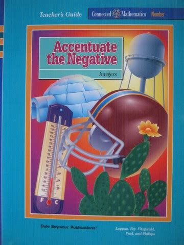 Accentuate The Negative 2 by Connected Mathematics Accentuate The Negative Tg Te P