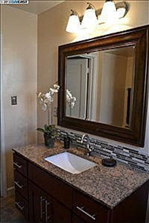 How To Put Up Backsplash In Bathroom by 1000 Images About Bath Backsplash Ideas On