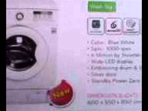 Mesin Cuci Lg Wash And mesin cuci lg wd m1070d6 wash 7kg
