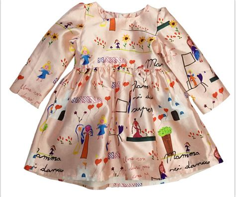 Colorful Pattern Smlxl Dress 24997 top design dresses sleeve colorful children graffiti pattern vest dress