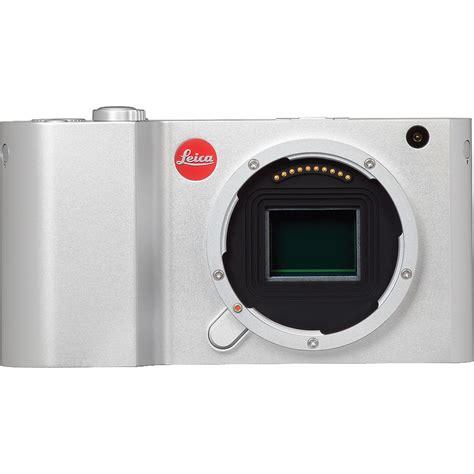leica digital price leica t mirrorless digital silver 18181 b h photo