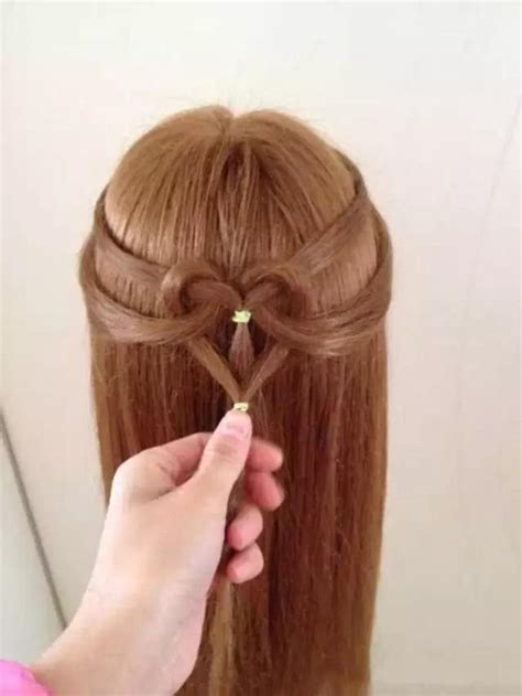 design fashion hair heart hair style image 2986233 by loren on favim com