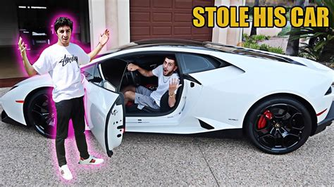 lamborghini faze rug stolen lambo prank on faze rug almost called the cops