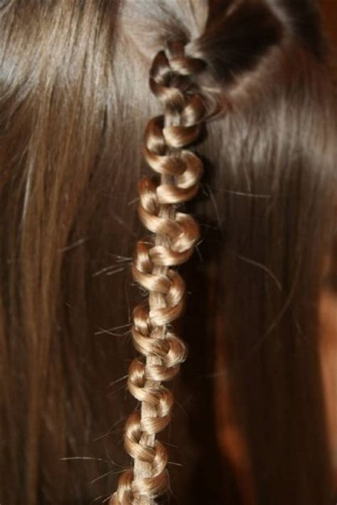 Macrame Hair Braid - fan favorites hairstyles