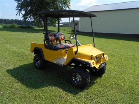 jeep golf carts 2014 jeep golf cart custom golf cart with a jeep b in acme