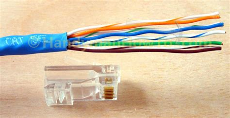 how to make an ethernet network cable cat5e cat6