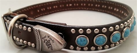 Handmade Collars And Leashes - on leash handmade leather collars and leashes