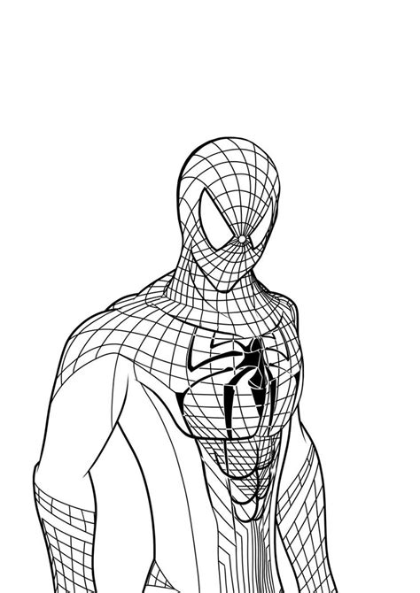 coloring pages amazing spider man spider man coloring pages coloringsuite com