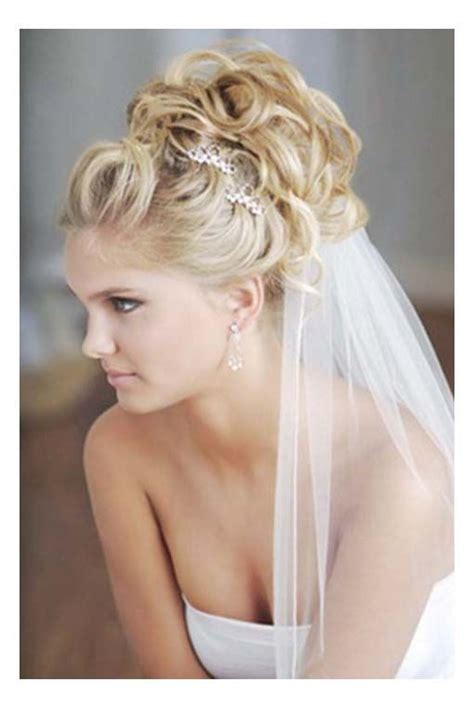 Bridal Hairstyles With Low Veil by Bridal Chignon With Veil