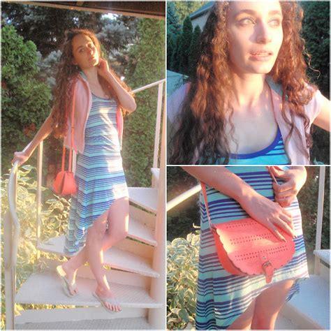 Forever21 Hilow Dress pauline b forever 21 hi low dress vest summer