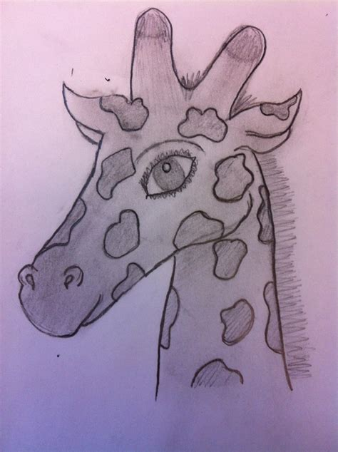 how to draw a giraffe doodle how to draw a giraffe snapguide