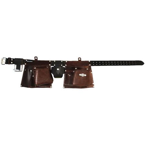 tmab buckaroo belt and apron combo brown one size fits