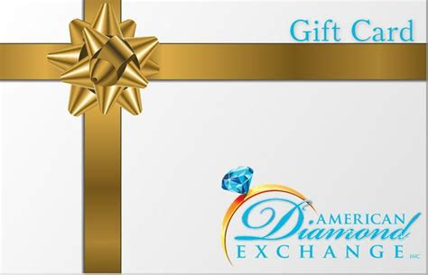 Exchanging Gift Cards - american diamond exchange gift card american diamond exchange inc