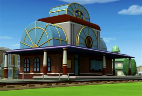 Hall And Parlor House train station paw patrol wiki fandom powered by wikia