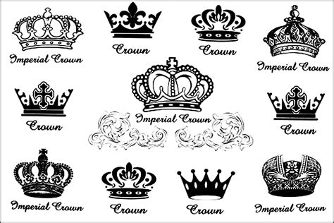 20 best crown tattoo designs