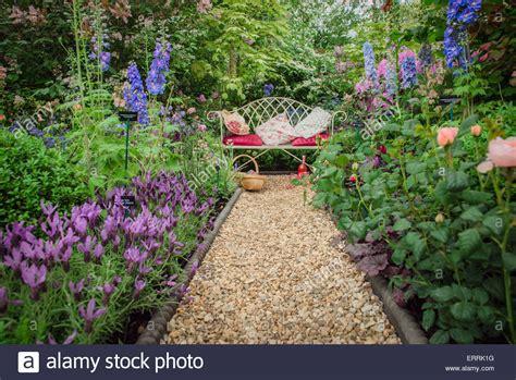 chelsea garden bench chelsea flower show 2015 bench in the garden surrounded