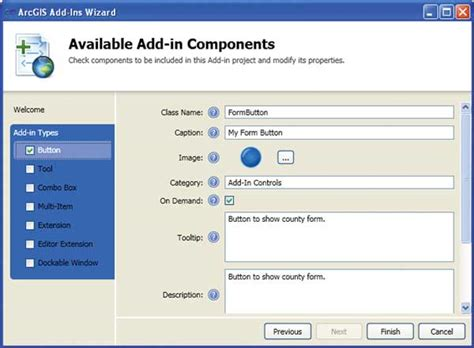 design form vba arcgis 10 x transformer un outil vba en add in net