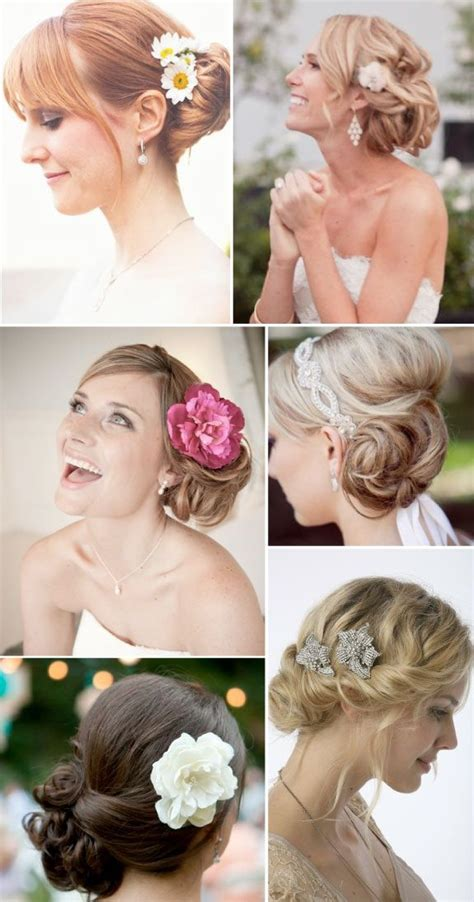 Wedding Hairstyles Side Chignon by Best 25 Side Chignon Ideas On Updo To The