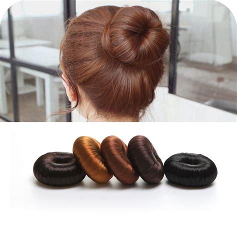 plate hair 2017 1pc plate hair donut bun maker magic foam sponge hair
