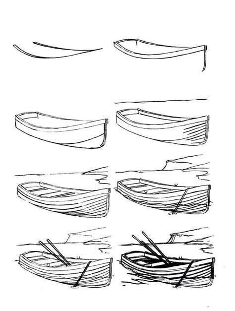 boat shape drawing 25 unique boat drawing ideas on pinterest boat art