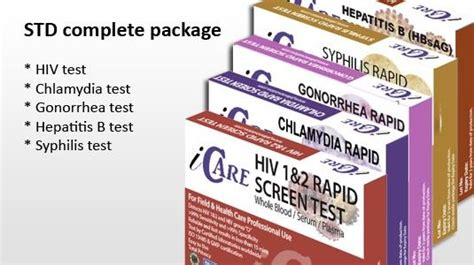 18 best images about std testing kits for home use on