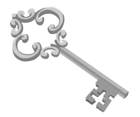 Silver Kets clipart silver key
