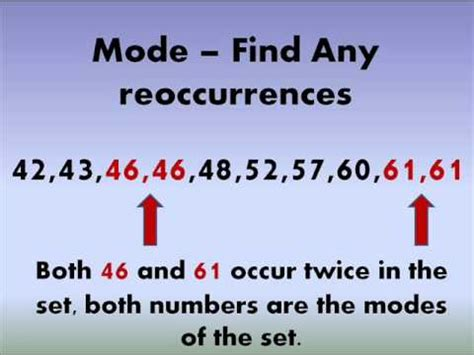 How To Find To Buy How To Find The Median And Mode Of A Set Of Numbers