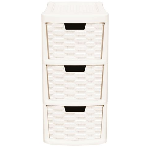 small plastic 3 drawer storage unit rattan style plastic small 3 drawer tower storage unit for