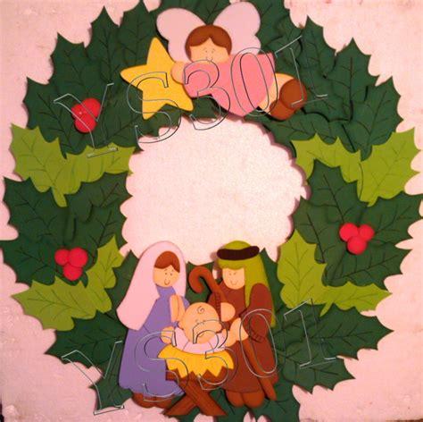imagenes de navidad hechas en foami figuras en foami para navidad bs 1 500 00 en mercado libre