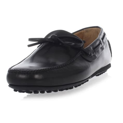 car shoe leather loafers spence outlet