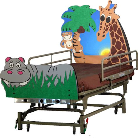 pediatric bed jungle pediatric hospital bed goodtime medical