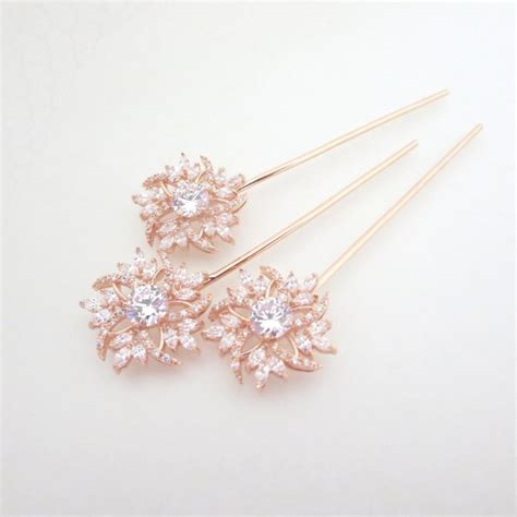 Wedding Hair Accessories Roses by Gold Hair Pin Bridal Hair Pins Gold Wedding