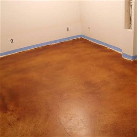 Stained Concrete Floors Diy by Stained Concrete Floors Diy Flooring Tip Junkie