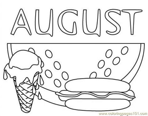 august color august coloring pages 2018