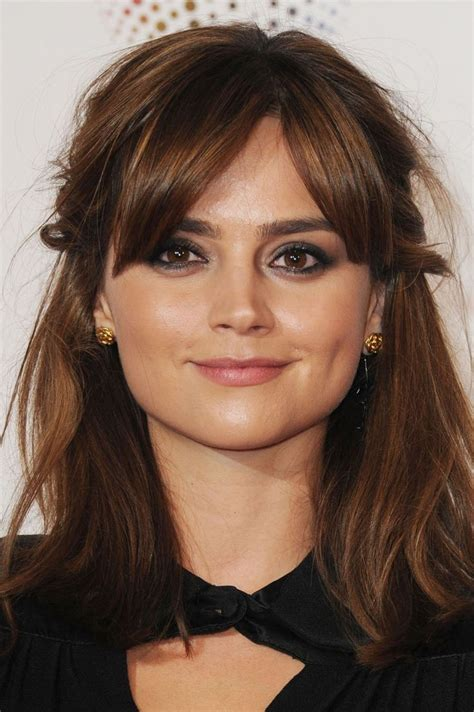 short haircuts hair parted in middle 25 best ideas about side fringe hairstyles on pinterest