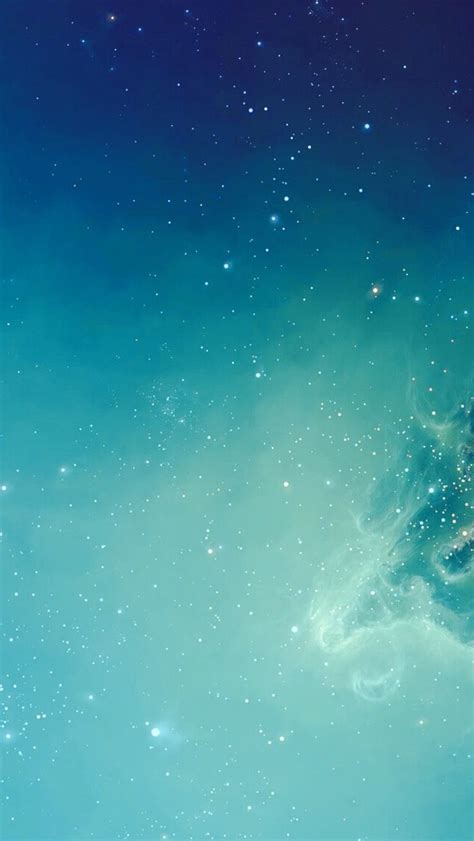 light blue galaxy iphone minimal wallpaper collection