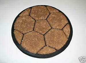 thick and wide mats thick wearing coir on rubber football doormat