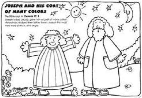 colors coloring page coat of many coloring pages