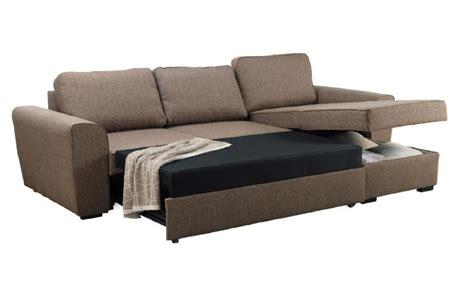 divano letto scorrevole divano con letto e contenitore in tessuto martin conforama