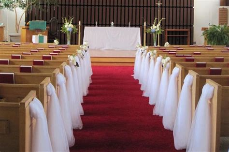 wedding church pew decorations pew decorations for
